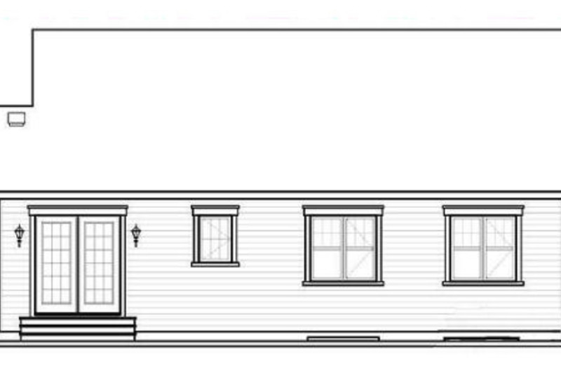 Traditional Exterior - Rear Elevation Plan #23-2202 - Houseplans.com