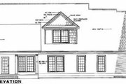 Traditional Style House Plan - 5 Beds 4 Baths 2379 Sq/Ft Plan #17-2059 Exterior - Rear Elevation