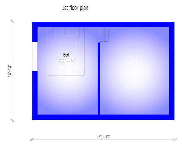 Modern Floor Plan - Main Floor Plan #549-31