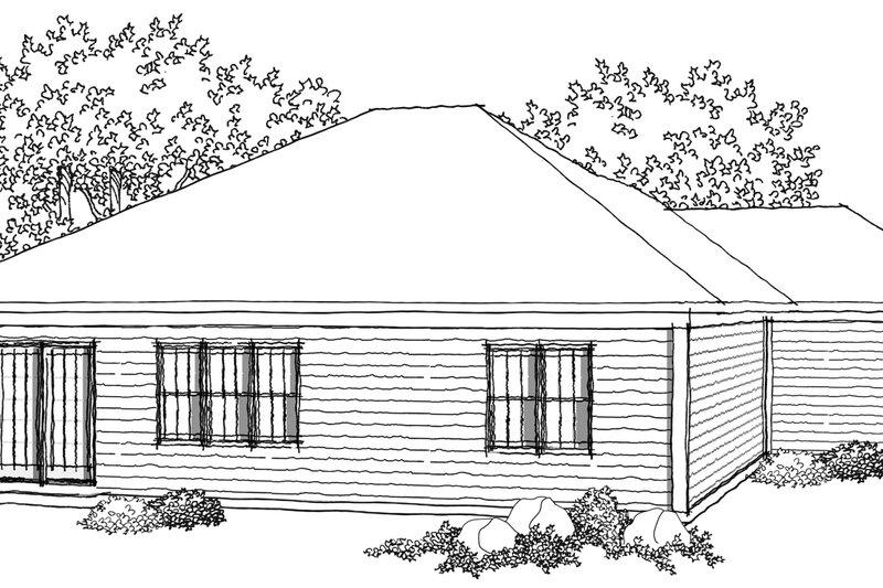 Ranch Photo Plan #70-1020 - Houseplans.com