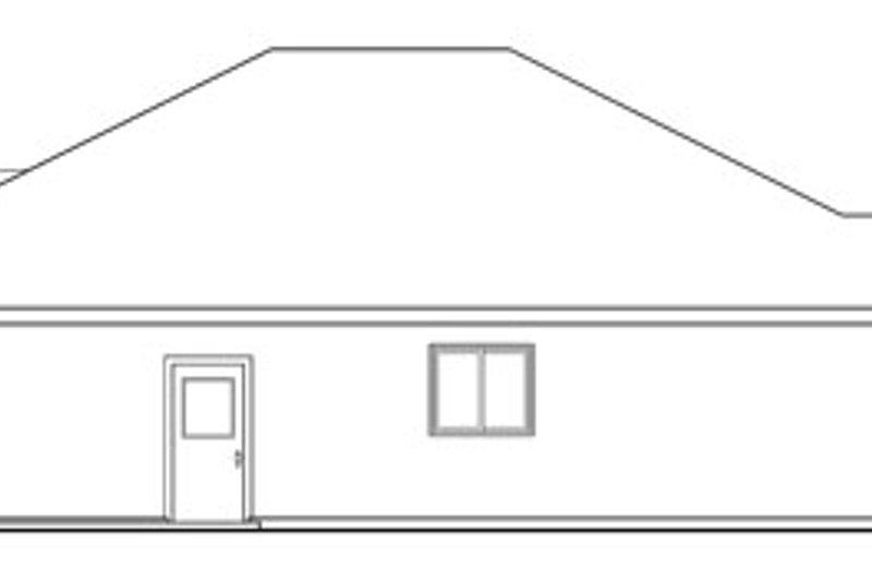 Craftsman Exterior - Other Elevation Plan #124-780 - Houseplans.com