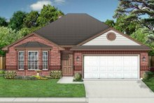 Dream House Plan - Traditional Exterior - Front Elevation Plan #84-347