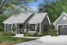 Home Plan - Cottage Exterior - Front Elevation Plan #23-116