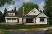 Farmhouse Style House Plan - 3 Beds 2.5 Baths 2241 Sq/Ft Plan #51-1131 Exterior - Front Elevation