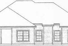 Traditional Exterior - Rear Elevation Plan #31-122