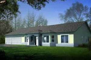 Traditional Exterior - Front Elevation Plan #1-1478