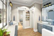 House Plan Design - Ranch Interior - Master Bathroom Plan #406-9655