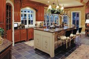 Traditional Style House Plan - 4 Beds 3.5 Baths 3187 Sq/Ft Plan #437-56 Interior - Kitchen