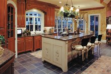 Traditional Interior - Kitchen Plan #437-56