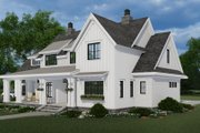 Farmhouse Style House Plan - 4 Beds 3.5 Baths 2862 Sq/Ft Plan #51-1155 Exterior - Front Elevation