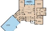 European Style House Plan - 3 Beds 3.5 Baths 4275 Sq/Ft Plan #923-85 Floor Plan - Main Floor Plan
