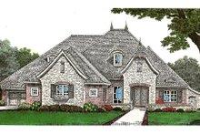 Dream House Plan - European Exterior - Front Elevation Plan #310-641