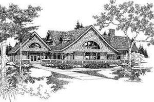 Modern Exterior - Front Elevation Plan #60-601