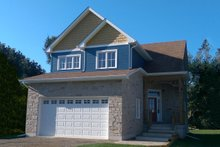 Home Plan - Traditional Exterior - Front Elevation Plan #23-2011