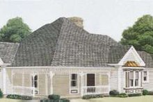 Dream House Plan - Victorian Exterior - Front Elevation Plan #410-244