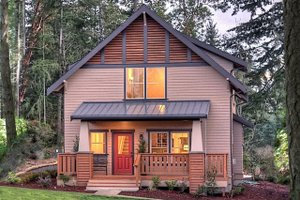 Craftsman Exterior - Front Elevation Plan #461-69