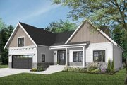 Farmhouse Style House Plan - 2 Beds 1.5 Baths 1556 Sq/Ft Plan #23-2679 Exterior - Front Elevation