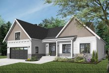 Farmhouse Exterior - Front Elevation Plan #23-2679