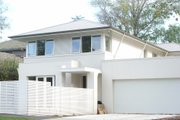 Modern Style House Plan - 4 Beds 2.5 Baths 3615 Sq/Ft Plan #496-13 Exterior - Front Elevation