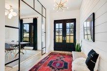 Architectural House Design - Farmhouse Interior - Entry Plan #430-156