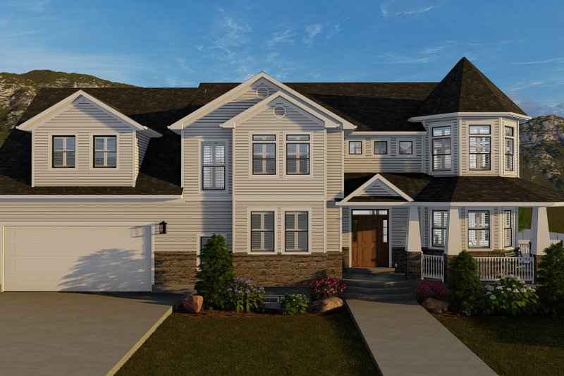 Home Plan - Victorian Exterior - Front Elevation Plan #1060-51