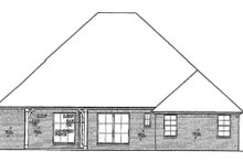 Home Plan - European Exterior - Rear Elevation Plan #310-676