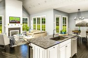 Cottage Style House Plan - 3 Beds 2 Baths 1782 Sq/Ft Plan #406-9657 Interior - Other