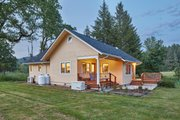 Cottage Style House Plan - 4 Beds 1.5 Baths 1680 Sq/Ft Plan #890-8 Exterior - Other Elevation