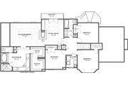 European Style House Plan - 4 Beds 2.5 Baths 2491 Sq/Ft Plan #119-114 Floor Plan - Upper Floor