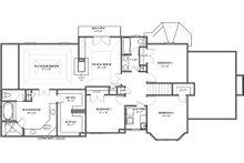 European Floor Plan - Upper Floor Plan Plan #119-114