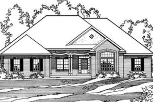 Traditional Exterior - Front Elevation Plan #31-134