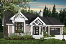 Home Plan - Ranch Exterior - Front Elevation Plan #23-2665