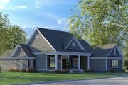Farmhouse Style House Plan - 4 Beds 3 Baths 2716 Sq/Ft Plan #923-190 Exterior - Other Elevation
