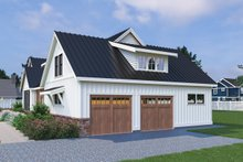 Dream House Plan - Farmhouse Exterior - Other Elevation Plan #1070-31