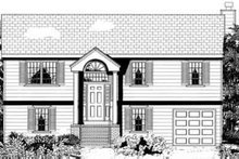 Dream House Plan - Traditional Exterior - Other Elevation Plan #3-147