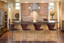 Modern Interior - Kitchen Plan #48-530