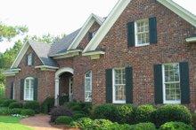Dream House Plan - European Exterior - Front Elevation Plan #1054-54