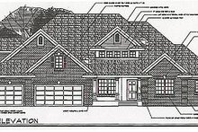 Craftsman Exterior - Other Elevation Plan #124-418