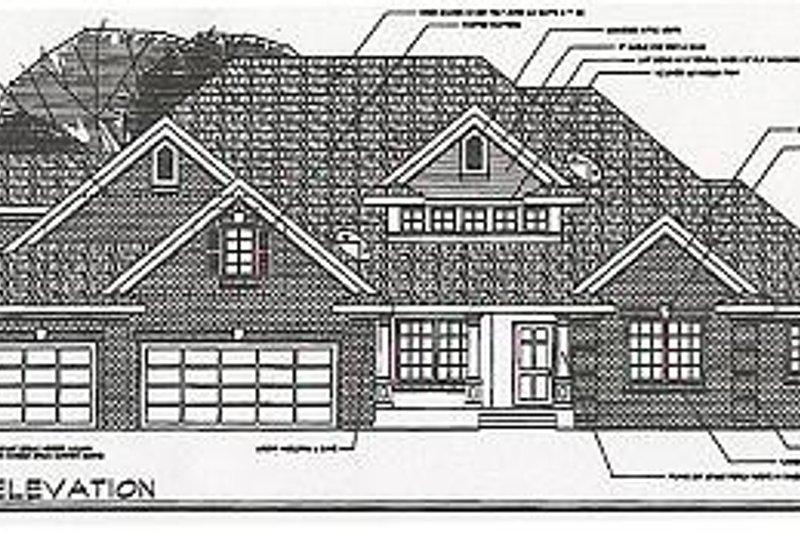 Craftsman Exterior - Other Elevation Plan #124-418 - Houseplans.com