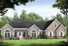 Dream House Plan - Traditional Exterior - Front Elevation Plan #21-251