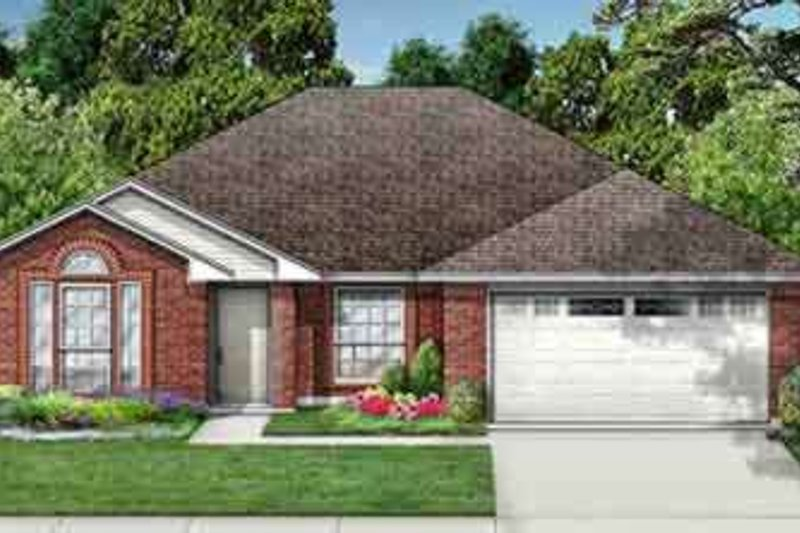 Traditional Exterior - Front Elevation Plan #84-174 - Houseplans.com