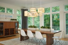 Contemporary Interior - Dining Room Plan #928-315