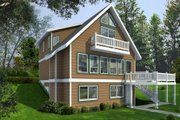 House Plan - 4 Beds 2 Baths 1469 Sq/Ft Plan #100-454 Exterior - Front Elevation