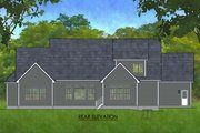 Craftsman Style House Plan - 3 Beds 2.5 Baths 2650 Sq/Ft Plan #1010-234 Exterior - Rear Elevation