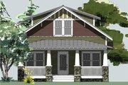 Craftsman Style House Plan - 3 Beds 2.5 Baths 1664 Sq/Ft Plan #461-64