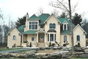 European Style House Plan - 4 Beds 3.5 Baths 2639 Sq/Ft Plan #20-967 Exterior - Other Elevation