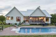 Country Style House Plan - 3 Beds 2 Baths 1905 Sq/Ft Plan #929-8