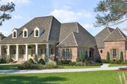 Southern Style House Plan - 4 Beds 4 Baths 3851 Sq/Ft Plan #1074-12 Exterior - Front Elevation