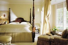 House Design - Colonial Interior - Master Bedroom Plan #137-230