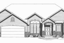 Home Plan - Ranch Exterior - Other Elevation Plan #58-198